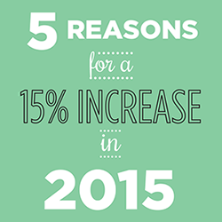 5 Reasons our Community Needs a 15% Increase