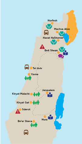 Jewish Cleveland's Impact in Israel