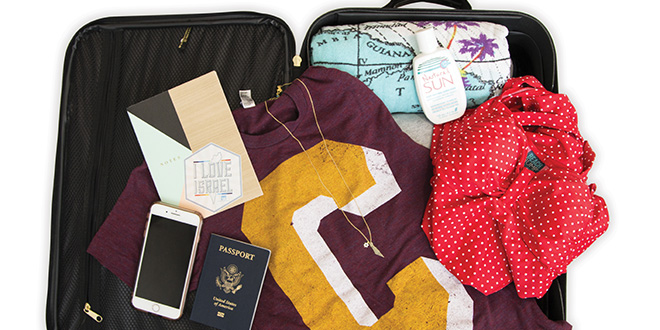 What's in my Suitcase: Birthright Edition