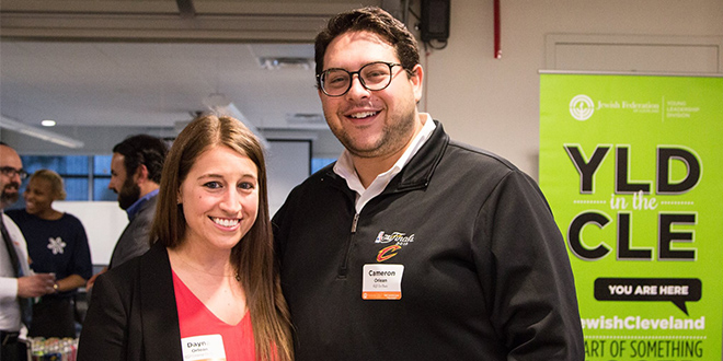 Our #JewishCleveland: Dayna & Cameron Orlean