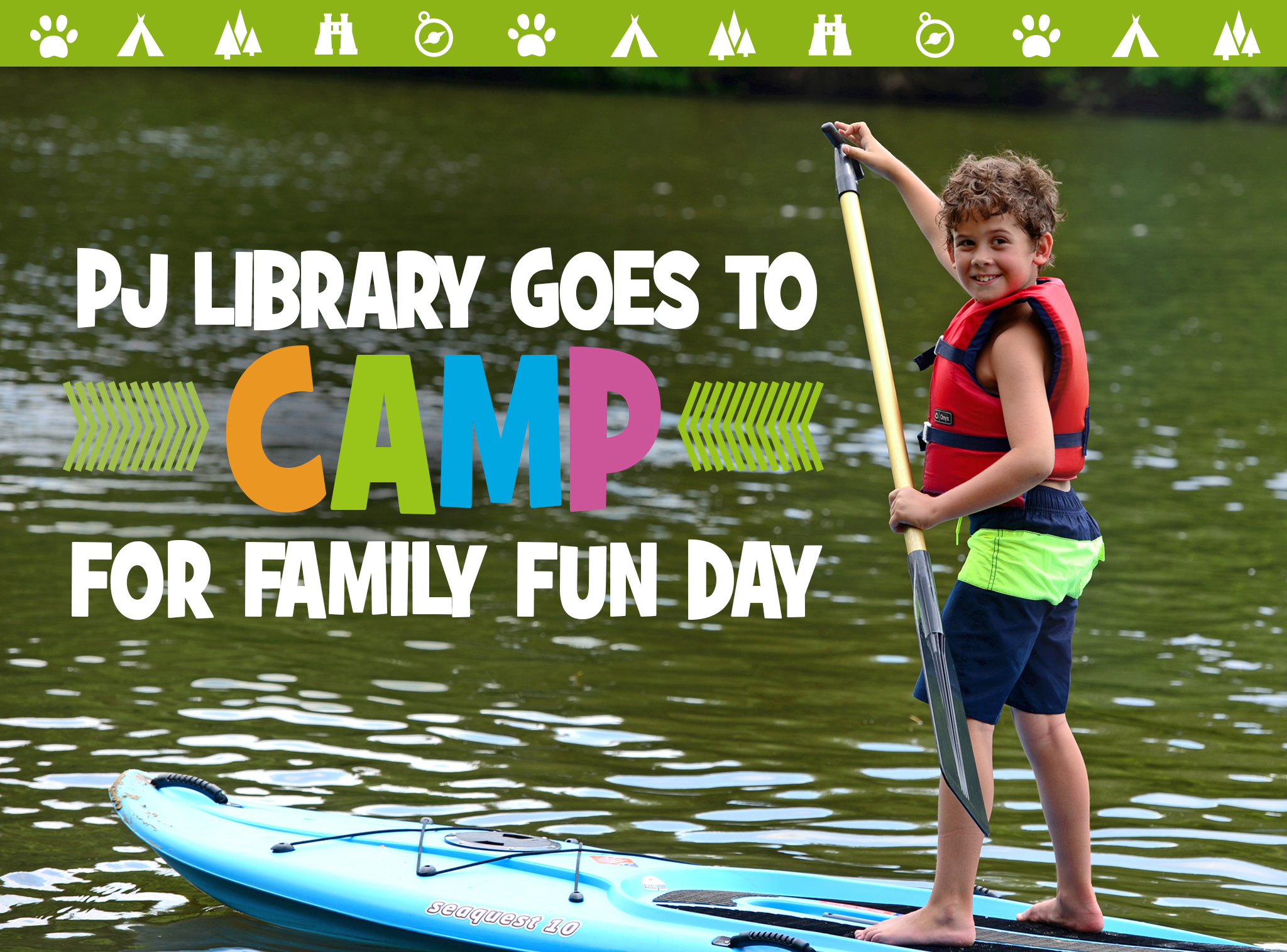 PJ Library® Goes to Camp on June 25