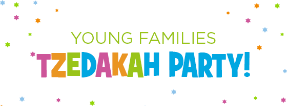 Young Families Tzedakah Party, 12/4