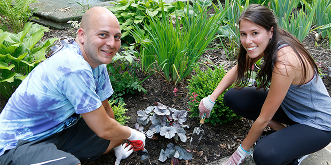 YLD Beautifies Hebrew Cultural Garden