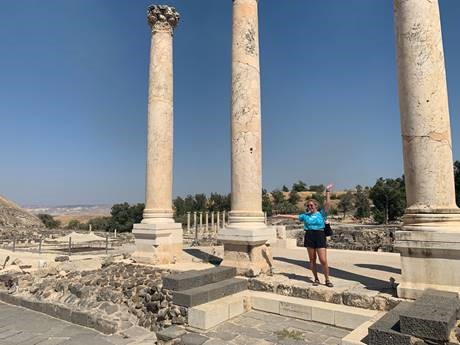 Leaving Beit Shean with a Full Heart