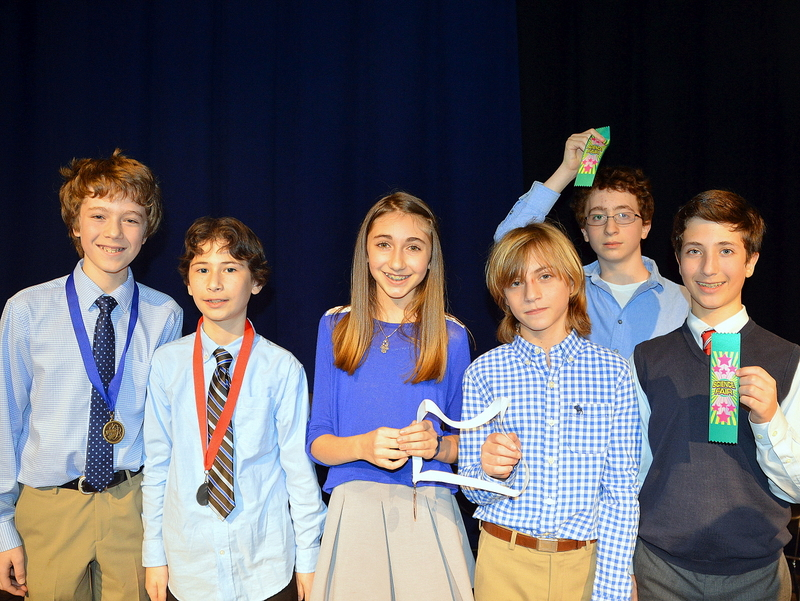 Mandel JDS Shines at Science Fair