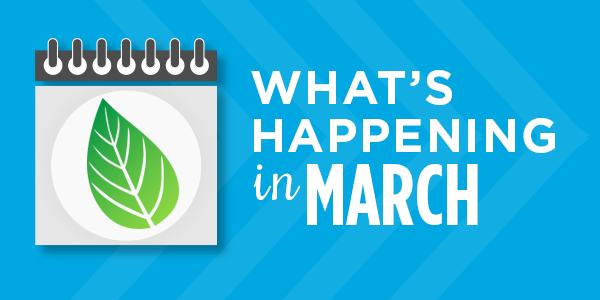 What's Happening in March: Upcoming Events