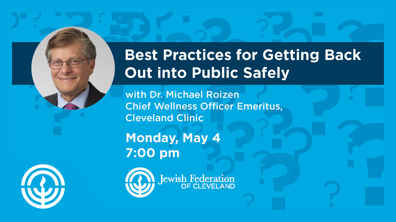 WATCH: Best Practices for Getting Back Out into Public Safely