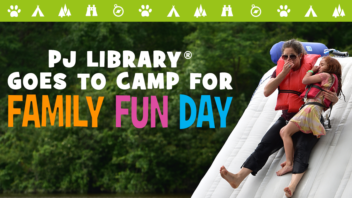PJ Library® Goes to Camp on June 24
