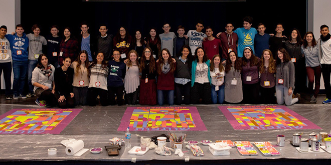 Jewish Teens Connect Across Borders