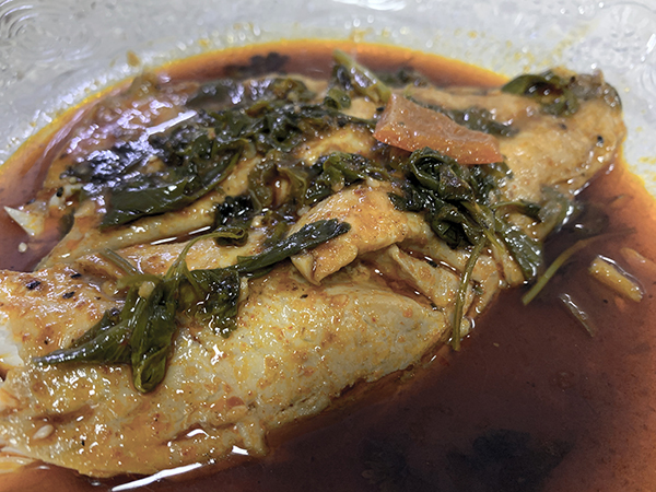 Our Shlicha's Spicy Fish Recipe